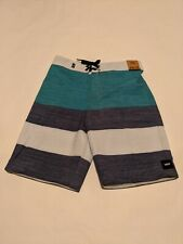 Vans New Era Boardshort 18 Boy's Size Youth 26/12 Quetzal-Dress Blues