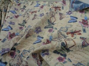 MODERN TAPESTRY FABRIC NEW INTERESTING  BUTTERFLY DESIGN   BY THE METRE