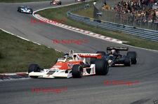 James Hunt McLaren M26 Dutch Grand Prix 1977 Photograph