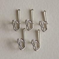 Zinc Curtain Hooks - 1000 pack