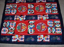 Hand Made Quilt From China Dragons Pandas Butterflies Frogs Stars NICE