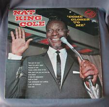 """LP 12"""" 33 rpm NAT KING COLE - COME CLOSER TO ME"""