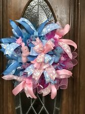 Gender Reveal Wreath, Its A Girl Wreath, It's A Boy Wreath, Baby Shower Wreath