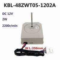 Para Omar TCL Frigoríficos KBL-48ZWT05-1202A DC 12V Fan Motor HeatSink 2200r/min