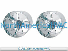 """2x 8"""" Round In-Line Air Duct Booster Fan 115 Volt T9-MCM8 T9-DB8 DB8 500 CFM USA"""