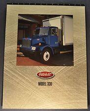 1995 Peterbilt Truck Model 330 Sales Brochure Folder Excellent Original 95