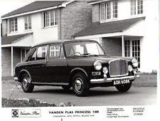 VANDEN PLAS PRINCESS 1300 ORIGINALE B & W Stampa Fotografia PUB. No. 213689