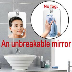 Portable Mini Fog Free Travel Mirror Bath Room Home Shower Makeup Tool