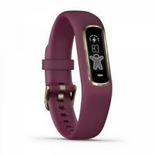 Garmin vivosmart 4 Berry with Light Gold Hardware Small/Medium Size 010-01995-01