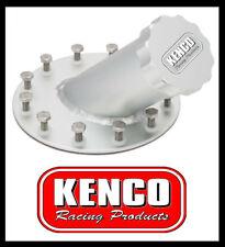 | Express | Kenco Fuel Tank Cell Filler Neck Cap Aluminum 45 Degree 12 Bolt Car