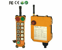 F24-10D 10 Channels 2 Speed Crane Radio Remote Controller (1T+1R) AC/DC18V-65V