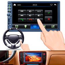"Car 7"" 2DIN Touch Screen MP5 Player Bluetooth Radio Stereo Support AM RDS RM TF"