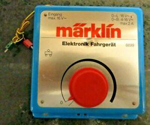 Märklin 6699 Elektronic Driving Device Tested