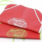 """Group of 4 Assorted Style """"Santa's Little Helper"""" Aprons for Baking, Partie photo"""