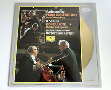 Rachmaninov Piano No.2 | Strauss Don Q | Karajan | PAL | LASERDISC still sealed