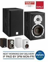 Dali Spektor 2 Bookshelf Speakers Available in Black, Walnut or White