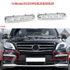 For Mercedes Benz W166 ML-Class ML500 X204 12-15 LED DRL Daytime Running Light