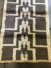 Vintage Turkish area Rug.high Pile Rug.Anatolian Tulu Rug.3X6'1