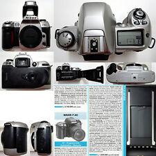 Nikon F80 - body only film camera, macchina fotografica a pellicola funzionante