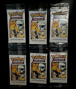 General Mills 25th Anniversary Pokémon TCG Booster Packs (x6) *Ready To Ship*