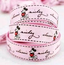 15mm cinta de algodón de hongos Embalaje de regalo hecho a mano Hazlo tú mismo proceso de costura 5y