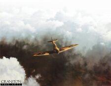 RAF WW2 Spitfire Aviation art print  Gerald Coulson, squadron battle of  britain