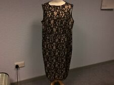NEW! Dorothy Perkins Dress - Lacy - Black & Nude - Sleeveless - Size 22