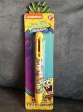 Nickelodeon Spongebob Squarepants Ages 5+ 6 Color Writing Pen - New In Package