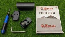 Burris Fastfire III Red Dot Reflex 3 MOA Sight, Picatinny Mount (Black) - 300234