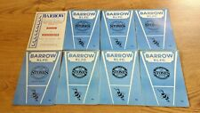 More details for barrow rugby league programmes 1947 - 1990