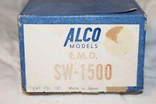 ALCO MODELS  EMD  SW  1500CAT.# D-151   EMPTY BOX HO SCALE