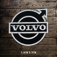 Volvo Car Band Embroidered Iron On Sew On Patch Badge For Clothes etc