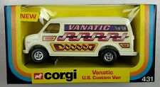 NEW Vintage Corgi 431 VANATIC U.S. CUSTOM VAN