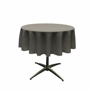 New Creations Fabric And Foam Inc, Round Polyester Poplin Table Overlay