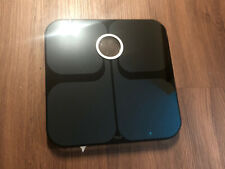 Fitbit Aria Wi-fi Smart Scale FB201B Black works Great Condition