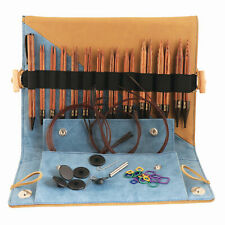 KnitPro Ginger Interchangable Circular Knitting Pins Deluxe Set - 11 Pairs