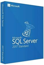 SQL Server 2017 Standard Product Key License MS 24 CPU Cores Genuine