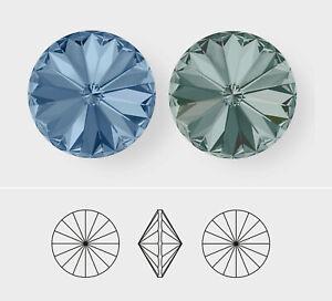 12mm   Rivoli   Swarovski Article 1122   12 Pieces - Choose Crystal Color