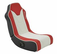 New X Rocker Chimera 2.0 Stereo Audio Gaming Chair - Red-GO96.
