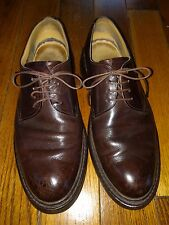 Heschung Brown Leather Smooth Toe Oxford Shoe Size 7.5 France
