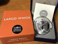 France 2012 LARGO WINCH 10 euro Silver Proof - Francia silber argent