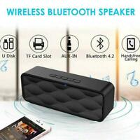 Wireless Speaker Portable Bluetooth Music Player Phone Blue Stereo Digital S3D4