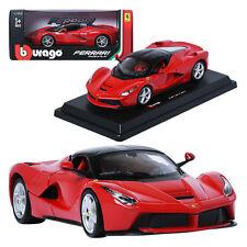 Burago 1:24 Ferrari Laferrari Red Display Mini Car Miniature Car Toy