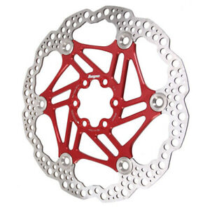 Hope Floating Disc Rotor: 180mm Red