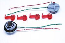 2x LED / HALOGEN SOCKET BA15S P21W + 4x CLAMPS 6V 12V 24V