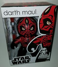 "Star Wars DARTH MAUL Mighty Muggs 6"" Vinyl Shirtless Figure BRAND NEW in Box"