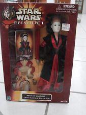 Star Wars Queen Amidala Ultimate Hair Doll 11in 1998 Lucasfilm