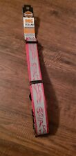 "Harley Davidson Large Dog Collar 18""-26"" Red And Grey"