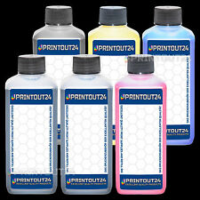 6x1L pigment Fill In refill CISS ink for Canon BJ-W8200P BJ-W8200PG BJ-W8400P XL