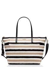 Kate Spade New York grant street grainy vinyl adaira baby bag w/ matching wallet